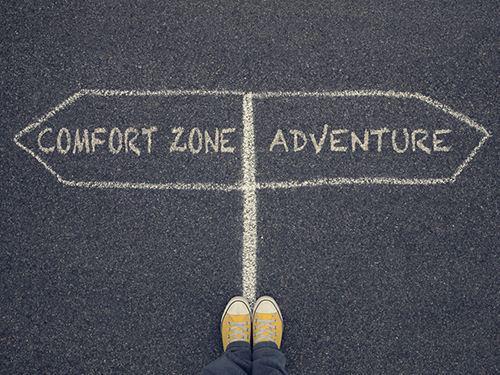 Wég Met Die Comfort Zone!
