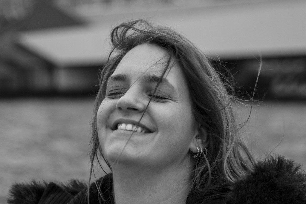 Linda, 2016, lachen