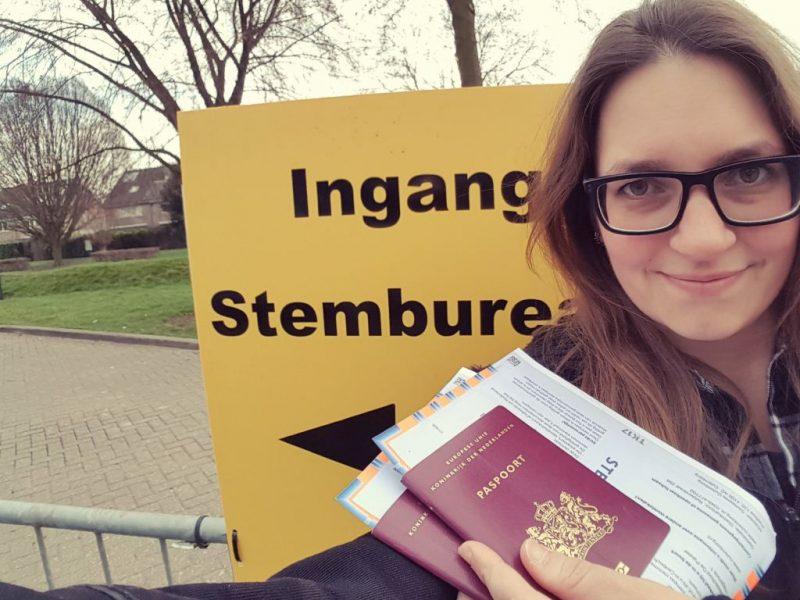 stemmen, paspoort, verkiezingen, stembureau