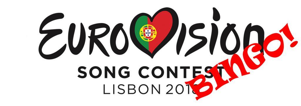 eurovisie songfestival bingo