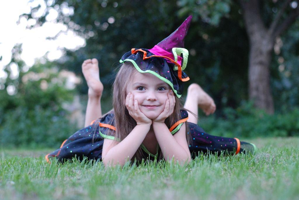 halloween, heks, verkleed, meisje