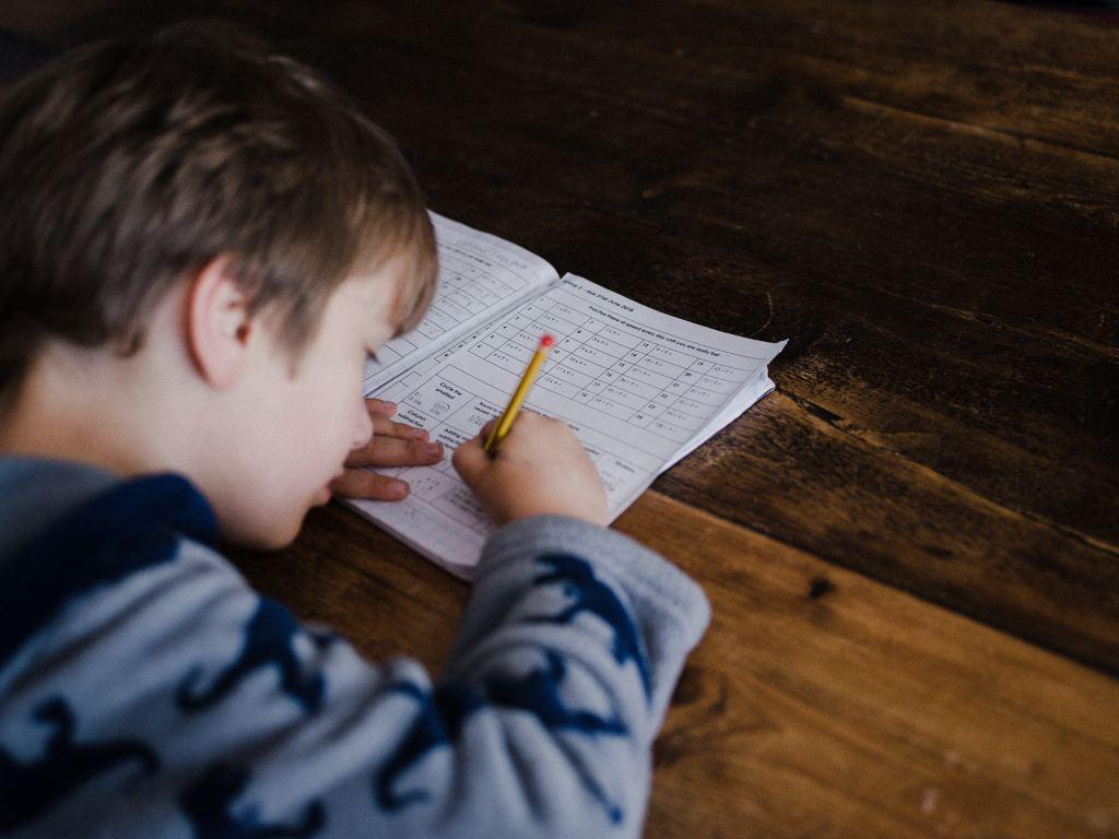 geprint huiswerk maken