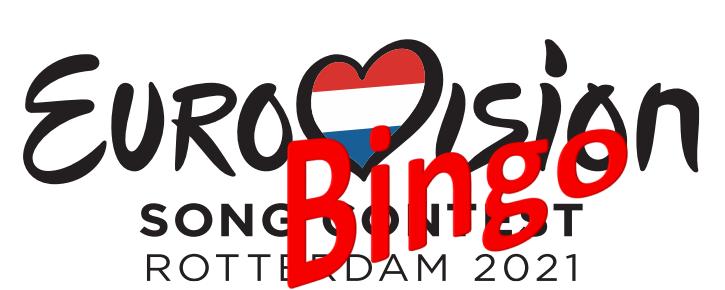 Eurovisie Songfestival Bingo 2021!